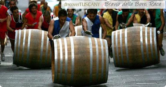 Il Bravio delle Botti in Montepulciano:Events in Tuscany in August,Events in Valdorcia