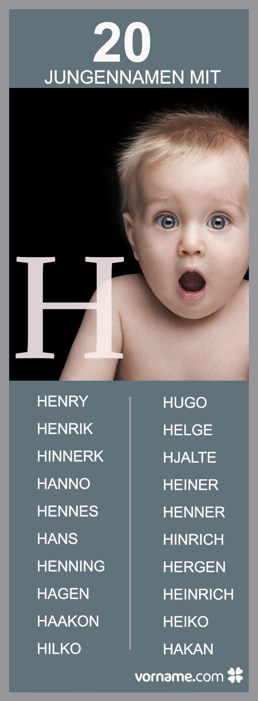 Dir gefallen Vornamen mit H? In unserer Liste findest Du beliebte und außergewöhnliche Namen und ihre Bedeutung.