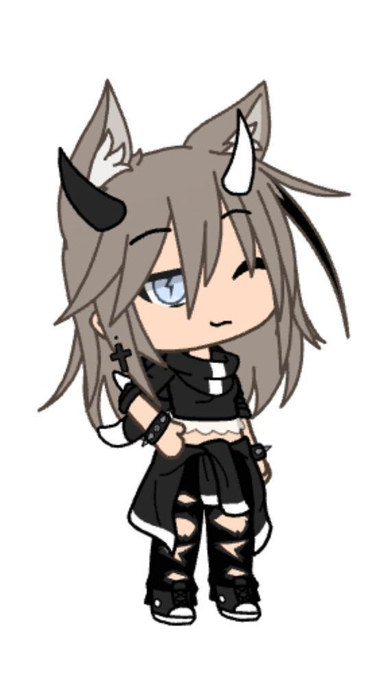 Billie Anime Wolf Girl Cute Anime Character Cute Anime Chibi