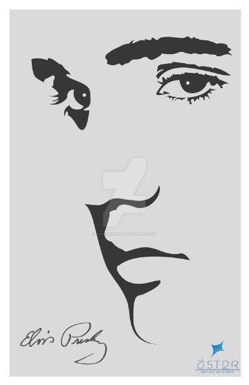 Ilustrador Elvis Presley