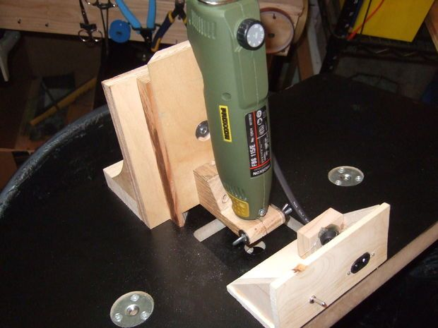 Garbage Can Dremel Router Table Table