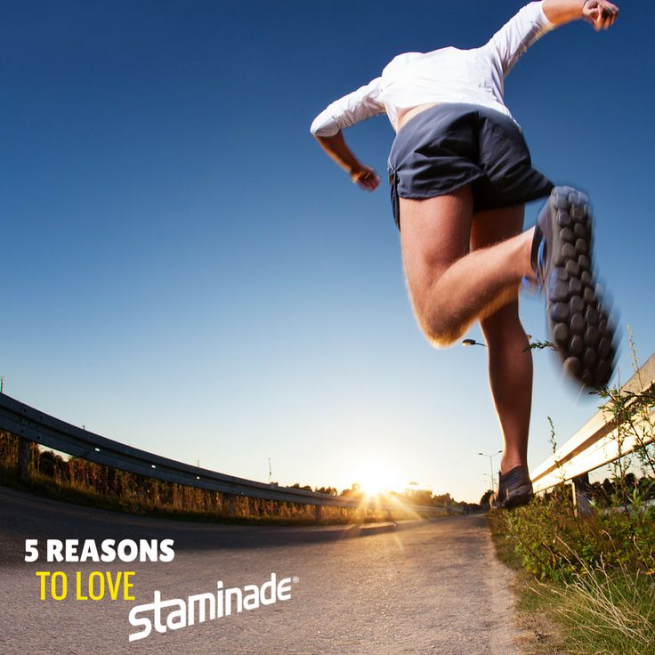 We share with you 5 Reasons to Love Staminade on our blog. What's your favourite?