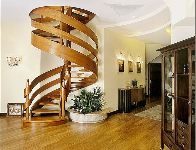 beautiful interior stairs designs for duplex houses and villas its spiral and round staircase designs with modern ideas from wood steel and iron staircase - Staircase Designs For Homes