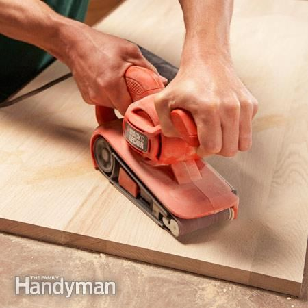 How to Sand Wood Faster: Speed up your woodworking projects http://www.familyhandyman.com/woodworking/how-to-sand-wood-faster/view-all