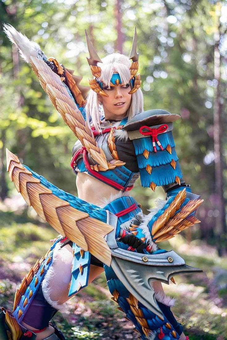 Zinogre Monster Hunter KamuiCosplay Monster hunter