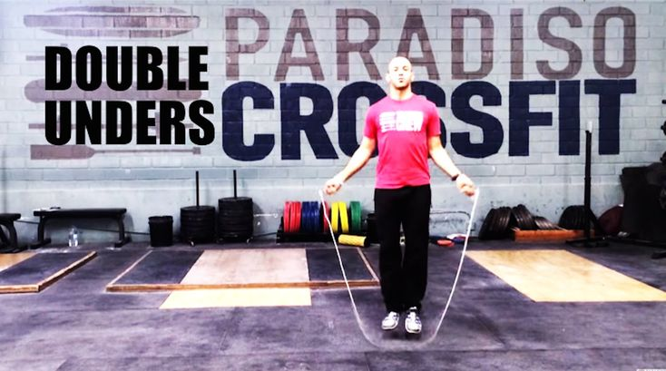 HOW TO LEARN DOUBLE UNDERS STEP BY STEP - Paradiso Crossfit  Get feedback from the rope, weight of rope is a factor.