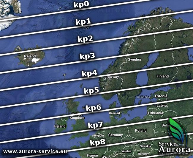 Northern lights Europe Map. The lower the KP number the more likely you will see the Aurora Borealis. This is why #Troms and #Finnmark in #Norway have such gorgeous winter skies.