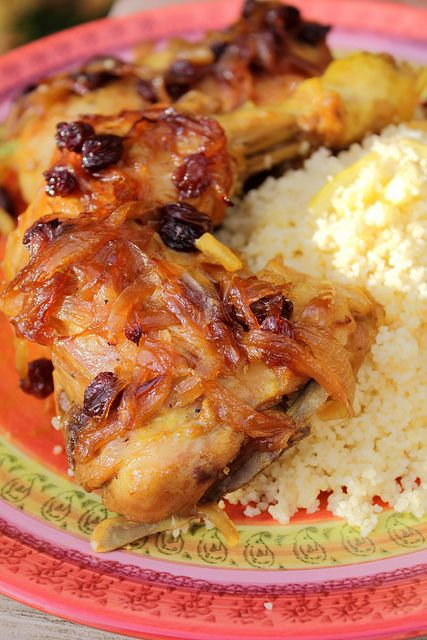 Dajaj maghrebi - moroccan chicken (original) by Adventuress Heart, via ...