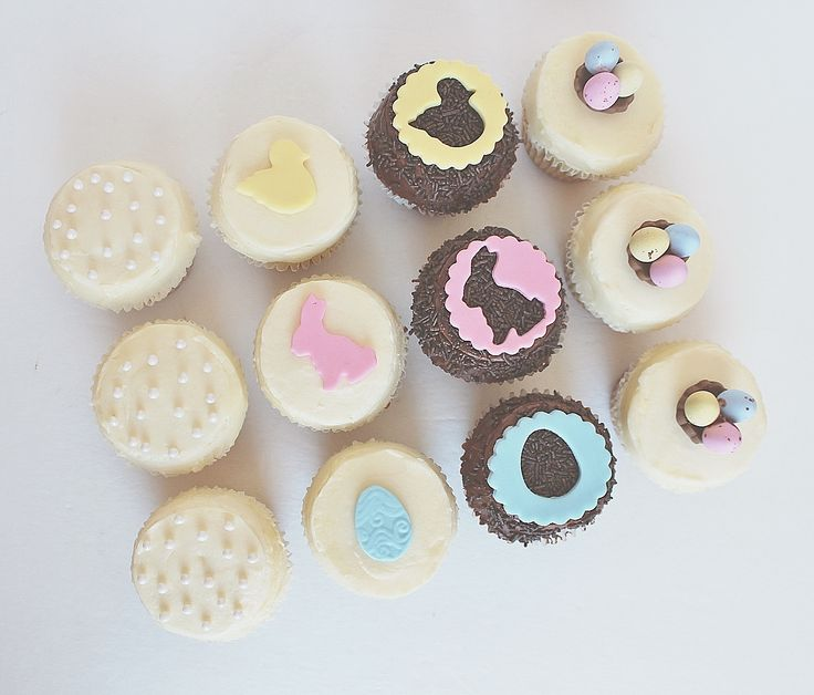 Easter Cupcakes by CarlasCakes best in Ottawa check out others at www.CarlasCakesOnline.com