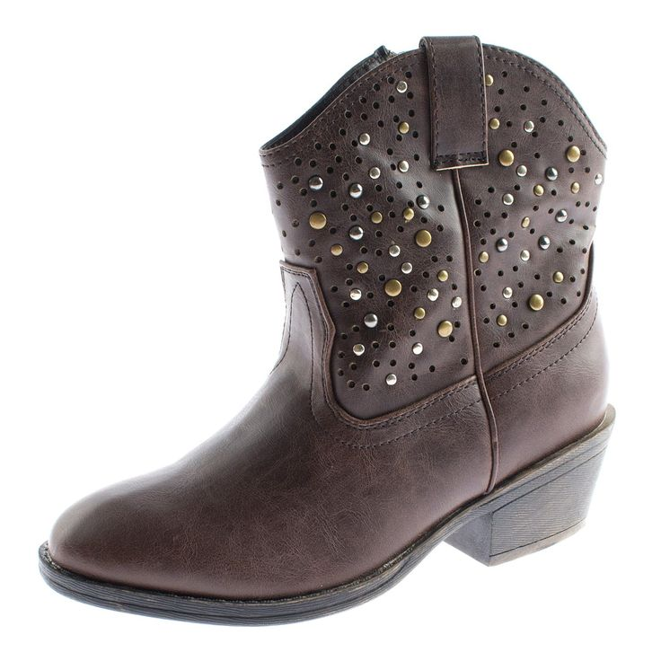 Cowgirl's ankle boots in 7 colors