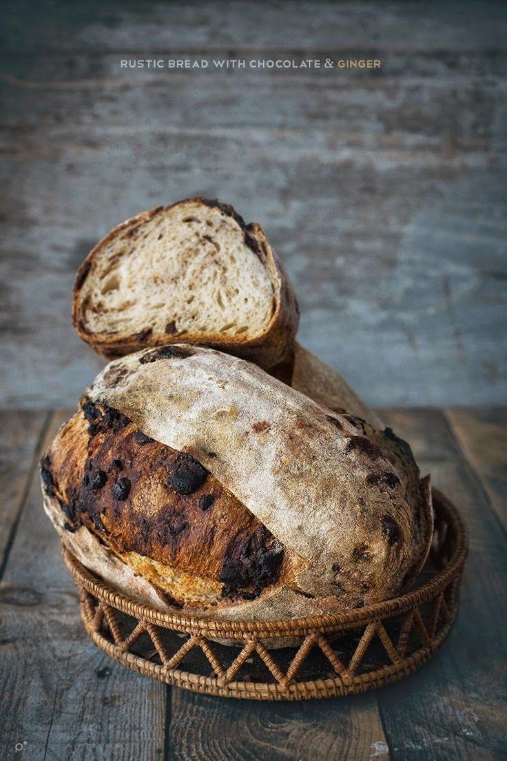 Italian Bread with chocolate Best Bread Recipe, Easy Bread Recipes, Sourdough Recipes, Sourdough Bread, My Daily Bread, Spoon Bread, Rustic Bread, Pan Dulce, Pie Dessert