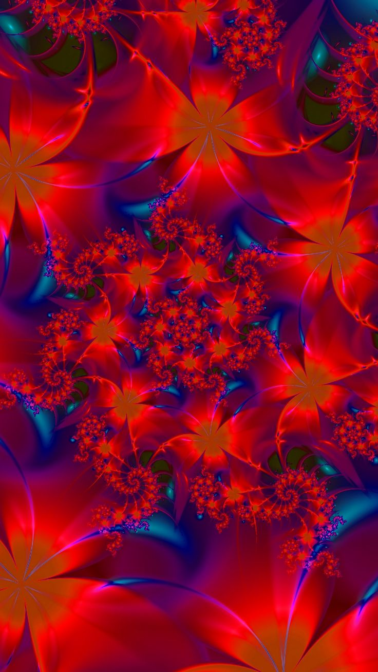 "For Iphone App: search for ""socihoro"" on App Store. #flowers #patterns #fractal ... 