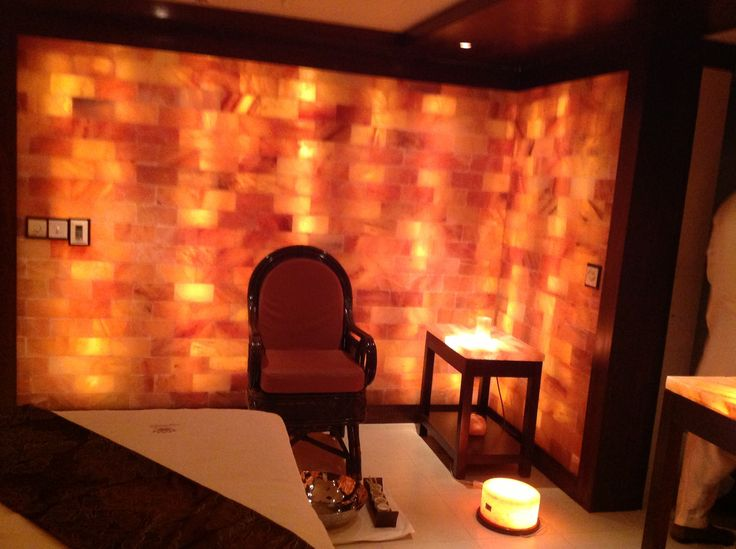 Himalaya Salt Room. An  ambience of Actual Salt Mine with Purest Ionised Air.
