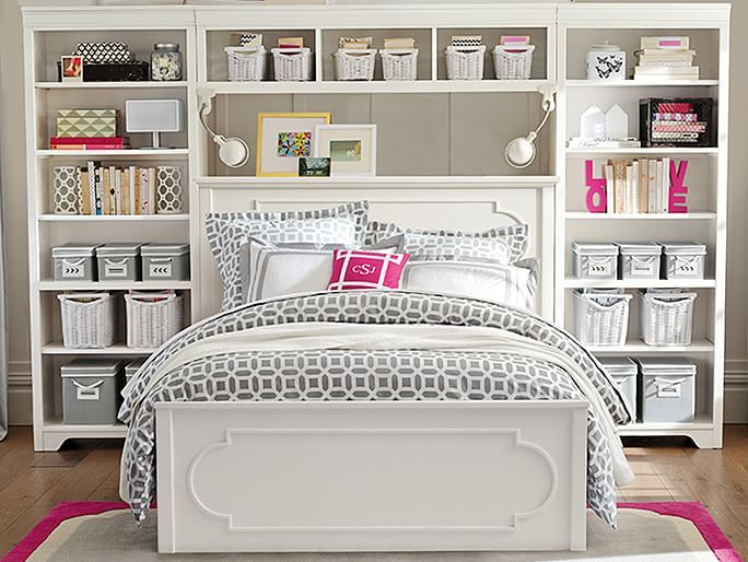 I love the PBteen Shelby Storage Peyton Bedroom on pbteen.com this is sooo cute it is amazing the way these colors come together is soooooooo pretty I definitely would love this
