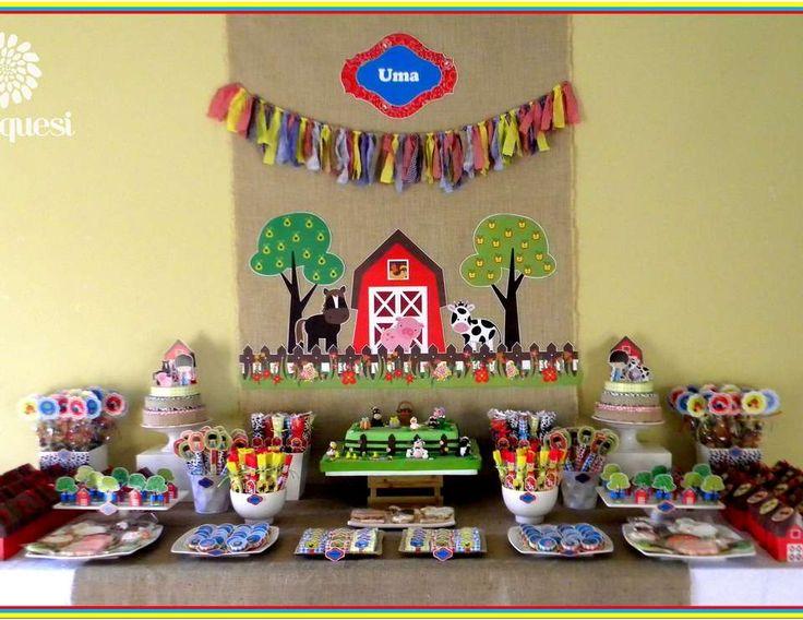 "Farm / Birthday ""La granja de Uma"" | Catch My Party"