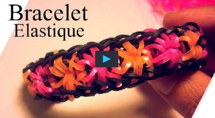 Comment fabriquer un bracelet élastique sans loom!                                                                                                                                                                                 Plus