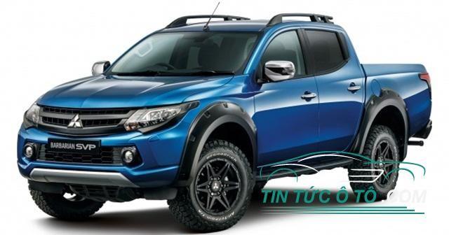 Mitsubishi vừa ra mắt xe bán tải Mitsubishi Triton L200 phiên bản giới hạn