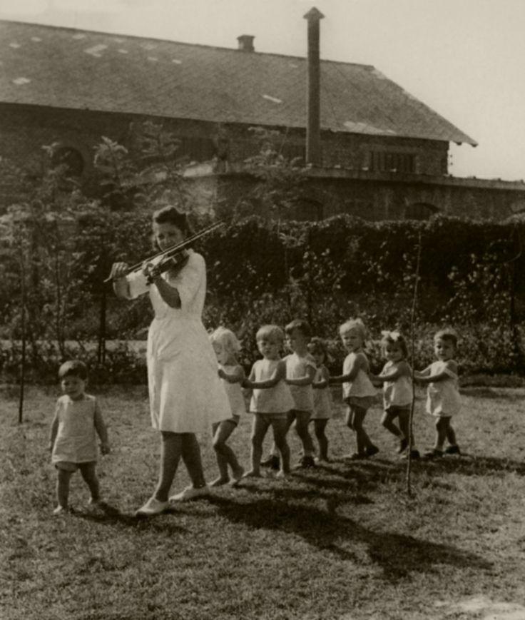 Kindergarten Budapest Hungary 1948 photo by David Seymour