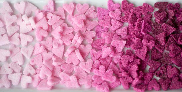 Adoce seu Chá aprendendo como fazer esses adoráveis Corações de Açúcar!