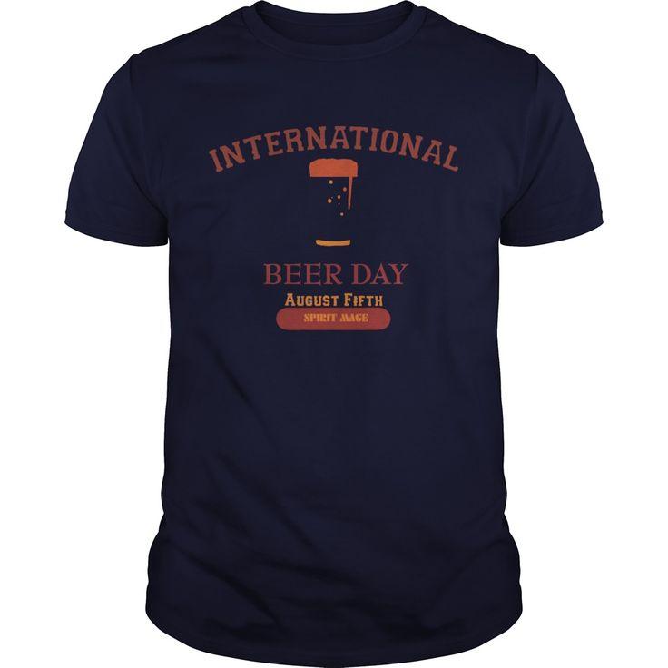 International beer day  mens premium tshirt