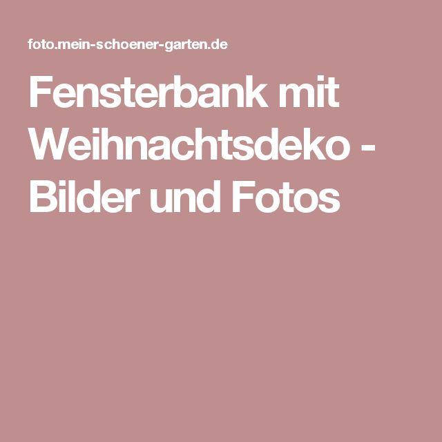 best 20 weihnachtsdeko fensterbank ideas on pinterest. Black Bedroom Furniture Sets. Home Design Ideas