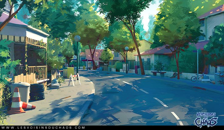Heatown streets by *Tohad on deviantART