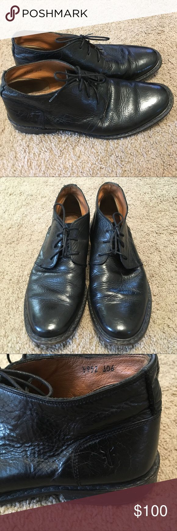 Frye Men's Chukka Boots Black Leather Frye Men's Chukka Boots Black Leather. Excellent Condition. Very Soft Leather Frye Shoes Chukka Boots