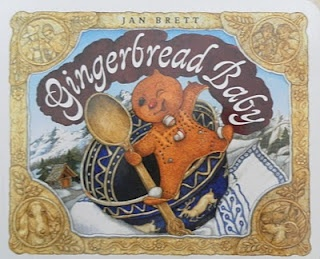 Gingerbread Baby story with a Gingerbread Baby Lapbook and activities, with printable resources.