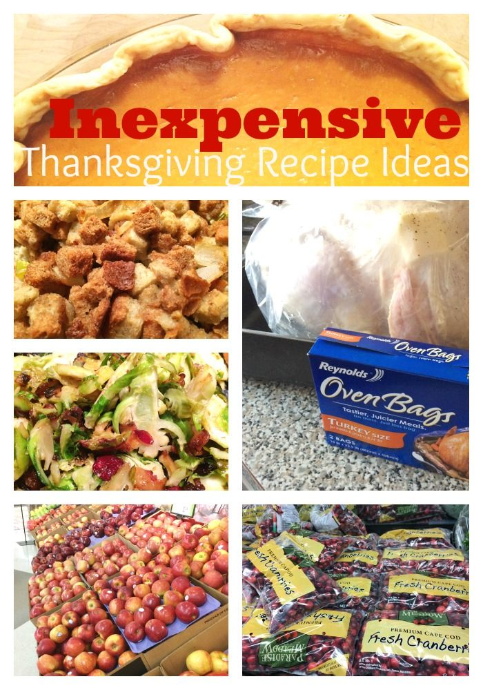 Thanksgiving Recipe Ideas that are inexpensive and easy to make. From @basilmomma