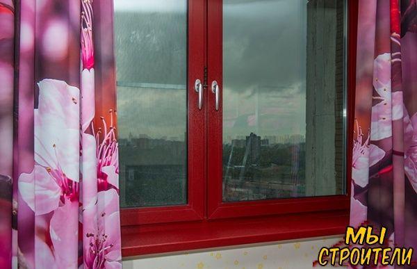 Окна из стеклокомпозита с ламинацией