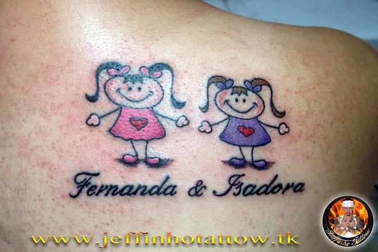 tattoo de bonequinhas - Pesquisa Google