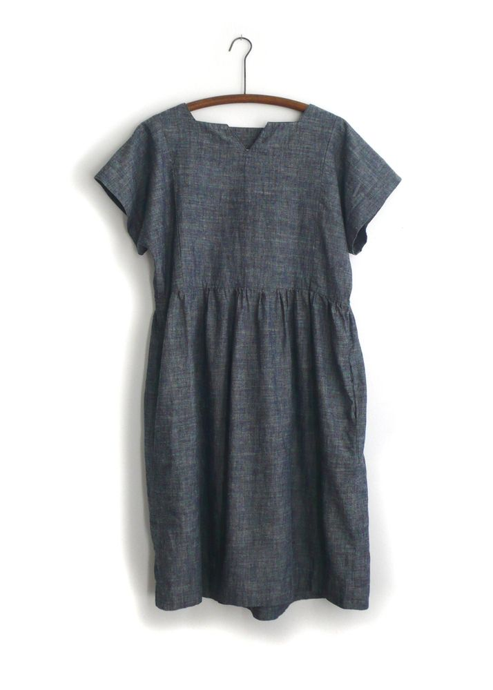 Light denim dress - ideal for layering from State