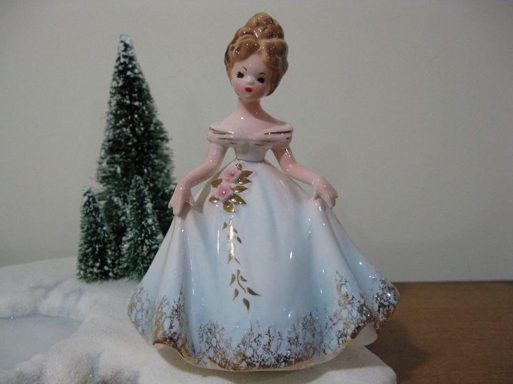 Vintage JOSEF Originals Figurine JAPAN Girl  #JosefOriginals