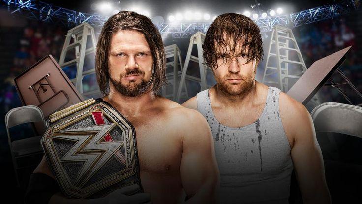 AJ Styles vs. Dean Ambrose [WWE TLC 2016]