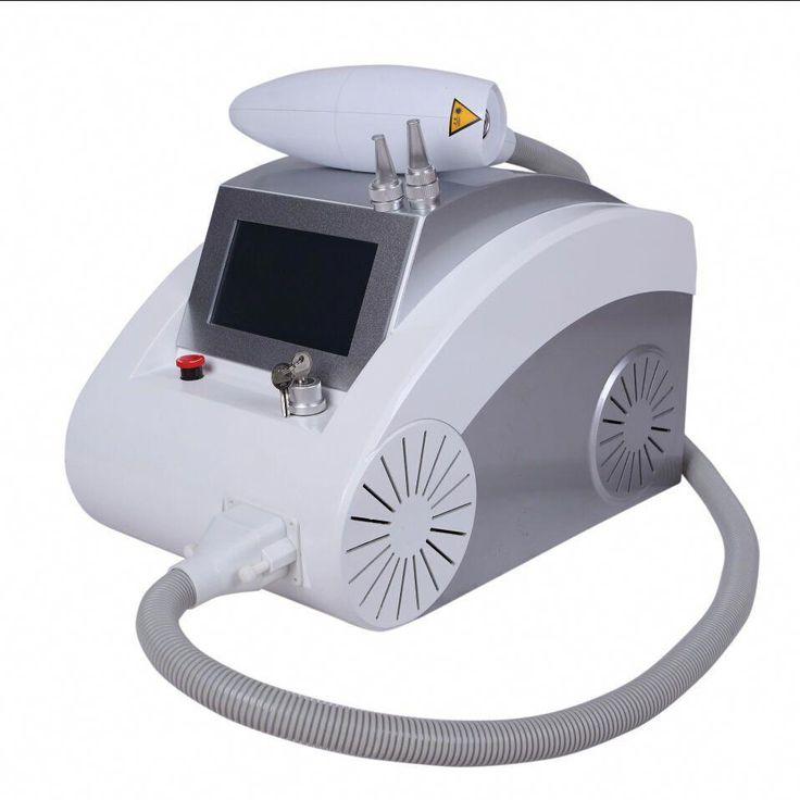 Laser dark spot tattoo removal nd yag laser machine skin