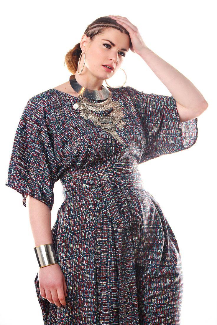 I LOVE a nasty jumpsuit! Shop the new Jibri Spring 2015 Plus Size Designer Collection at JibriOnline.com...