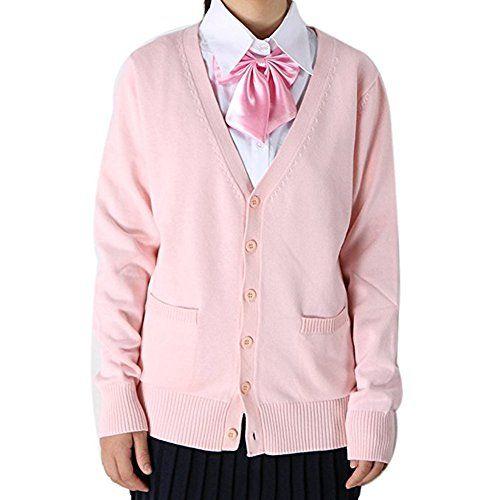 ROLECOS Girls Japanese Preppy Style School Uniform Sweate...