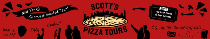 Scott's Pizza Tours | New York City Guided Pizza Tasting & Historical Bus and Walking Tours (NYC, NY)