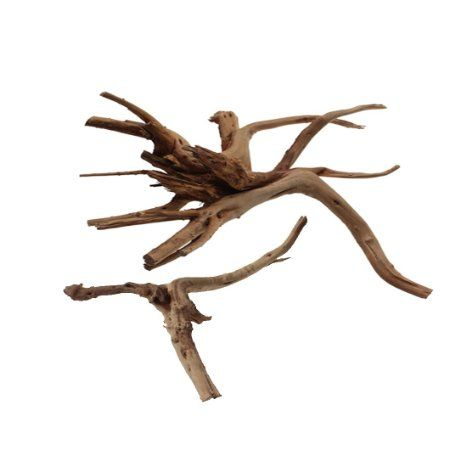 Emours Aquarium Driftwood Tropical Fish Plant Habitat Decor Varies Size, Small & Large,2 pcs Pack, 2016 Amazon Hot New Releases Reptiles & Amphibians  #Pet-Supplies