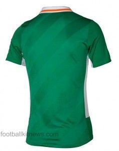 Ireland Euro 2016 Shirt Back