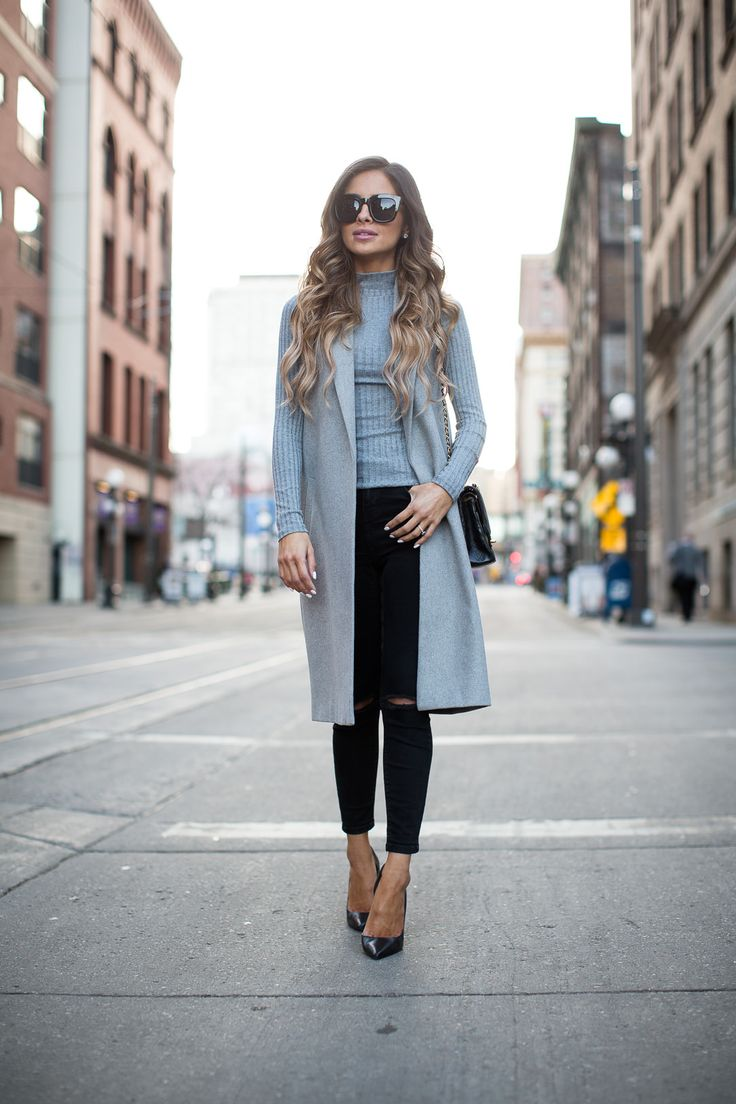 Asos Gray Vest (similar here) // Topshop Gray Turtleneck // Topshop Black Skinny Jeans via Nordstrom // Zara Black Heels (similar here) // Free People Black Oversized Sunglasses // Vintage Chanel Bag I've been getting emails from you guys asking for more work outfit ideas so I wanted to share another work-appropriate outfit with you. The black tuxedo …
