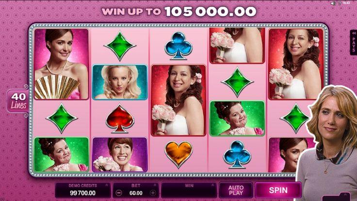 Bridesmaids Automat pre ženy - Bridesmaids je výherný automat ako stvorený pre ženy, ktorý je založený na základe úspešného hollywoodskeho filmu z roku 2011 s rovnakým názvom. Hrajte na http://www.slovakia-casino.com/hry/bridesmaids-automat-pre-zeny #hracieautomaty #vyherneautomaty #automatovehry #vyhra #jackpot #bridesmaids