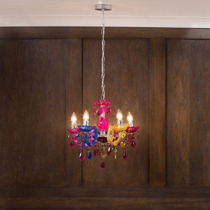 Multicoloured Chandelier