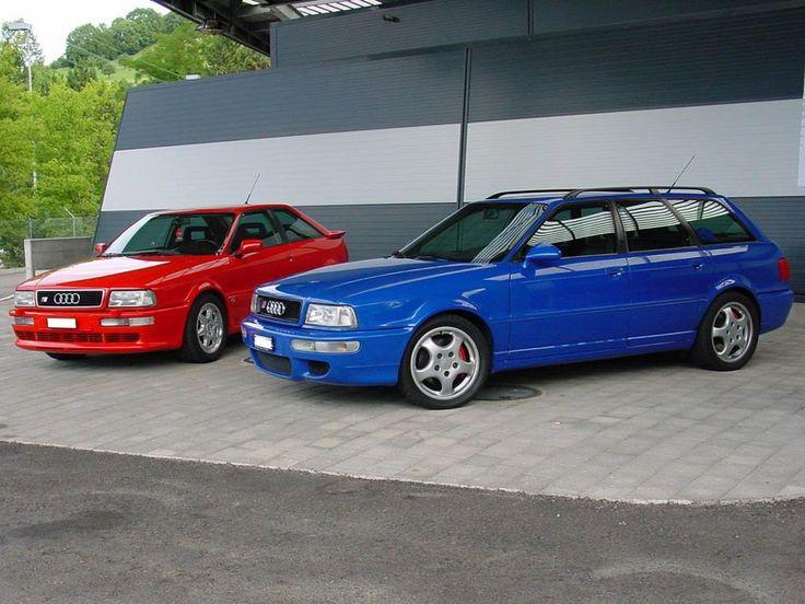 Audi RS2 Avant & Audi S2 Coupe