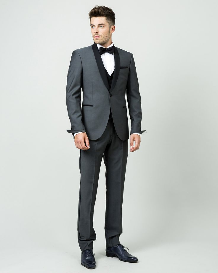 smoking gris col chle - Smoking Hugo Boss Mariage