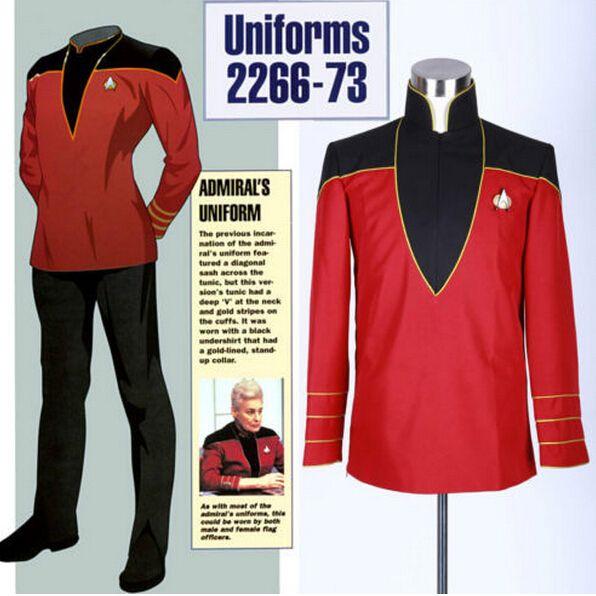Aliexpress.com: Comprar Recién llegado de Star Trek almirante uniforme chaqueta wiht insignia pantalones Cosplay de traje de bombero fiable proveedores en PURPLESALAD