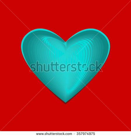 Valentine Card - Vector graphic