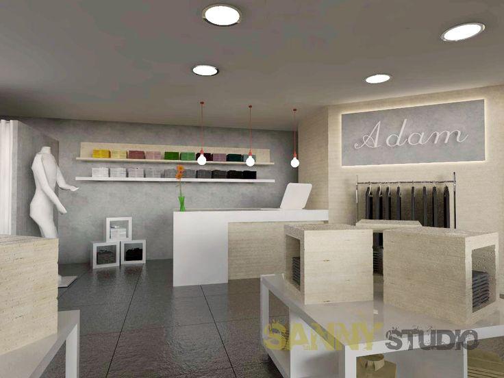 3D vizualizácie a návrh obchodných priestorov.