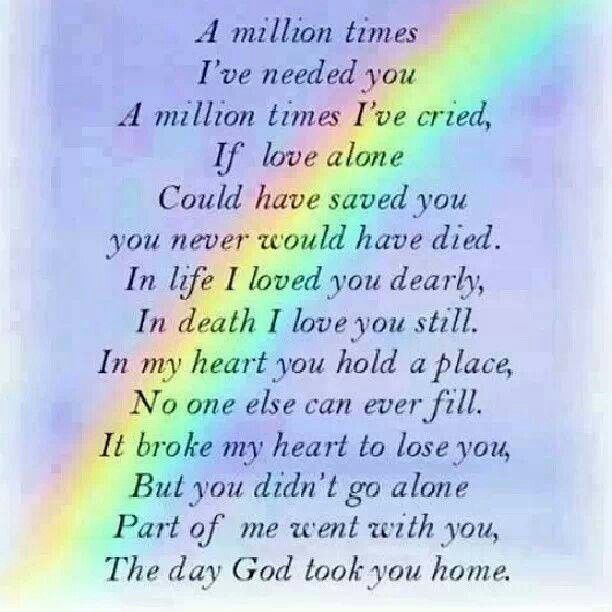 Poem For Missing Mom And Dad Special Love Pinterest