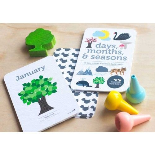 Flash Cards - Days, Months, Seasons